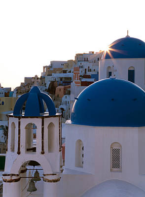 Photograph - Structures Greece Santorini 15 by Sentio Photography