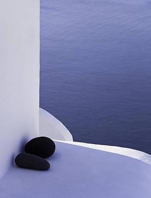 Photograph - Structures Greece Santorini 18 by Sentio Photography