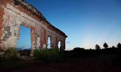 Photograph - Structures Puerto Rico Aguadilla 01 by Sentio Photography