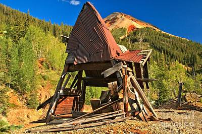 Photograph - Struggling A-frame by Adam Jewell