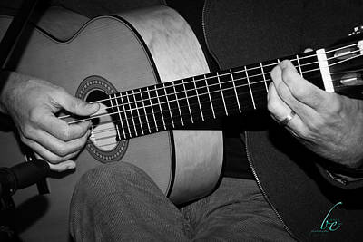 Photograph - Strumming by Bonnes Eyes Fine Art Photography