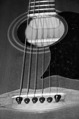 Photograph - Strumming Guitar Strings by Athena Mckinzie