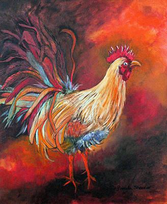 Painting - Strut That Stuff by Pamela Shearer