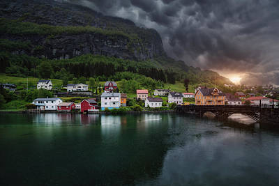 Norway Photograph - Stryn by Juan Pablo De