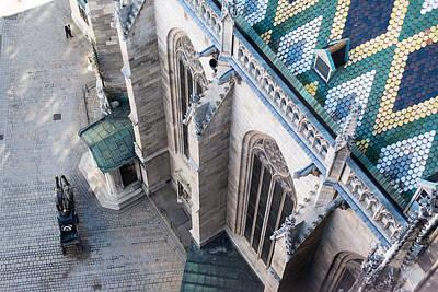 Fiaker Photograph - St.stephan Cathedral - Vienna -  Austria by Frank Gaertner