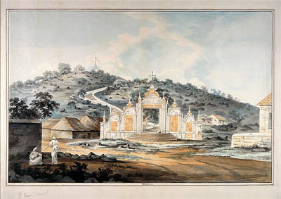 Illustration Technique Photograph - St.thomas's Mount Madras by British Library