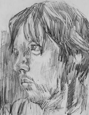 Drawing - Stuart by Jim Vance