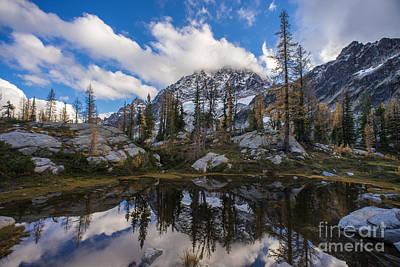 Photograph - Stuart Range Soaring Skies by Mike Reid