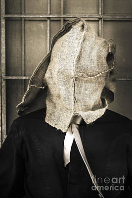 Hiding Photograph - Stuck In A Rut Sack by Jorgo Photography - Wall Art Gallery