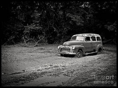 White River Photograph - Stuck In The Mud by Edward Fielding