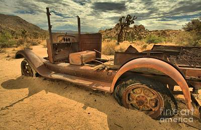 Mining Truck Photograph - Stuck In The Sand by Adam Jewell