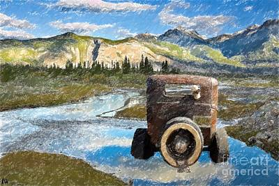 Painting - Stuck In The Valley by Liane Wright