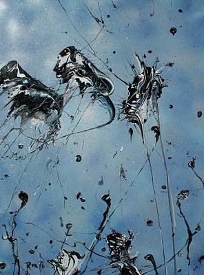 Painting - Stuck Inside A Dream by Ric Bascobert