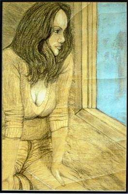 Depression Mixed Media - Stuck Inside These 4 Walls by Wayne Vincent
