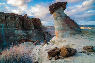 Western Sky Photograph - Stud Horse Point 2 by Larry Marshall