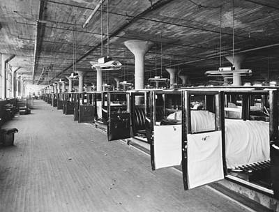 Factory Photograph - Studebaker Assembly Factory by Underwood Archives