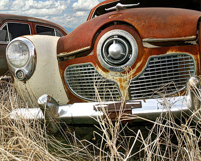 Photograph - Studebaker Car by Andrea Kelley