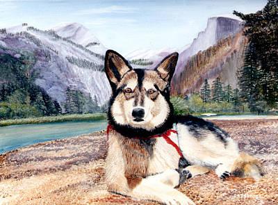Huskie Wall Art - Painting - Studebaker by Donald Gazzaniga