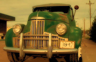 Studebaker For Sale Print by Tony Grider