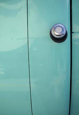 Photograph - Studebaker Gas Cap by Steven Ralser