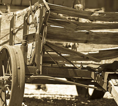 Old Western Photograph - Studebaker  Wagon by Gilbert Artiaga