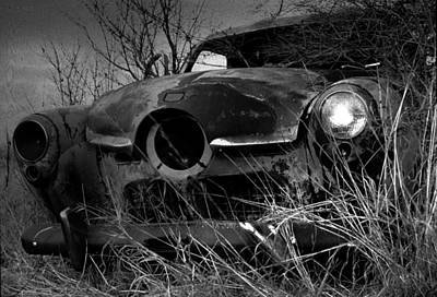 Art Print featuring the photograph Studebaker  by Jim Vance