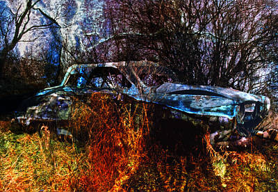 Photograph - Studebaker Reclamation 1 by Jim Vance