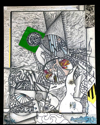 Student Work 1980s Art Print by Hans Kaiser