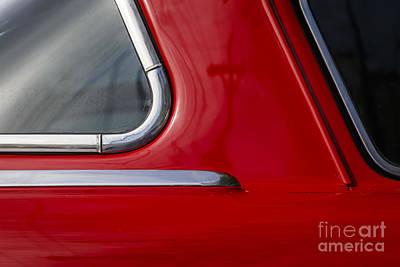 Photograph - Red Studebaker by Dennis Hedberg