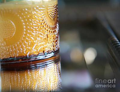 Photograph - Studies In Glass ...amber by Lynn England