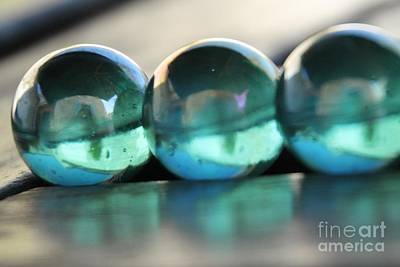 Photograph - Studies In Glass ...marbles by Lynn England