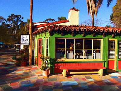 San Diego Artist Digital Art - Studio 29 - Balboa Park by Glenn McCarthy Art and Photography
