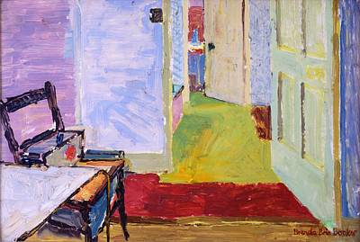 Studio Space, Ivor Street, Nw1 Oil On Canvas Art Print