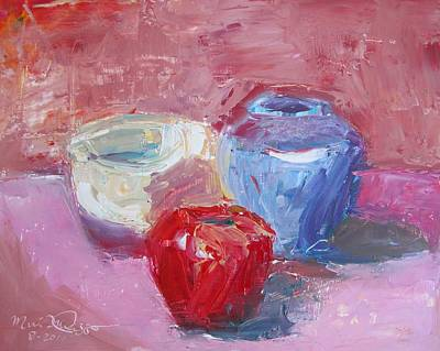 Studio Still Life Original by Maria Milazzo