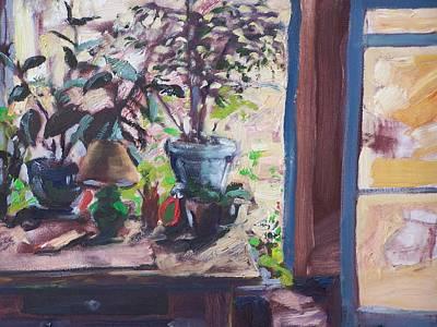 Studio Window Original by Geoffrey Haun