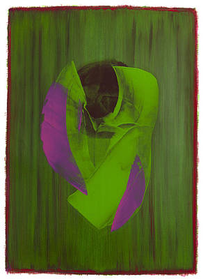 Painting - Study 7 by Hermann Lederle