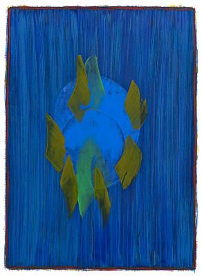 Painting - Study 8 by Hermann Lederle