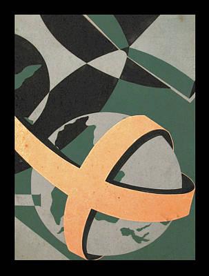Painting - Study - Ecumenical Magazine 1965 by Glenn Bautista