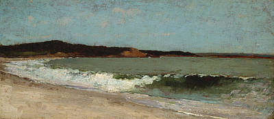 Nature Study Painting - Study For Eagle Head - Manchester Massachusetts by Winslow Homer