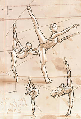 Graceful Drawing - Study by H James Hoff