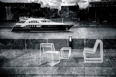 Study In Black And White Art Print by Alexander Senin