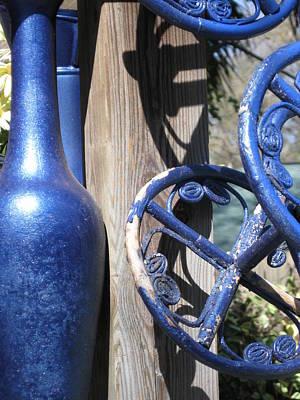 Study In Blue Art Print by Tamara Lee Madden