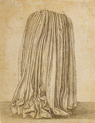 Study Of A Pleated Skirt Hans Brosamer, German Art Print by Litz Collection
