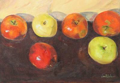 Study Of Apples Original by Jean Costa