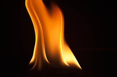 Photograph - Study Of Flames IIi by Patrick Boening