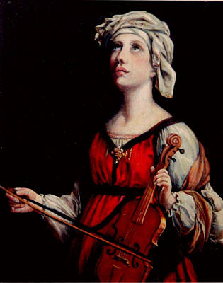 Classical Realism Painting - Study Of St. Cecelia by Donna Tucker