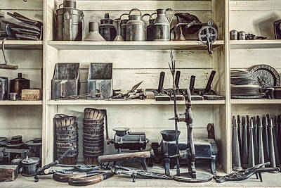 Stuff For Sale - Old General Store Art Print by Gary Heller