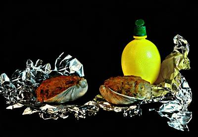 Photograph - Stuffed Clams by Diana Angstadt