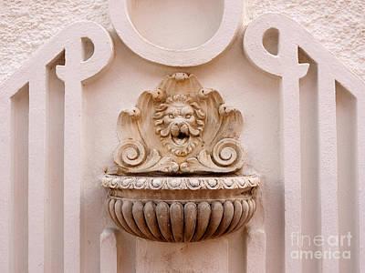 Photograph - Stunning Water Fountain In Spain by Brenda Kean