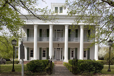 Photograph - Sturdivent Hall In Selma by Carol M Highsmith